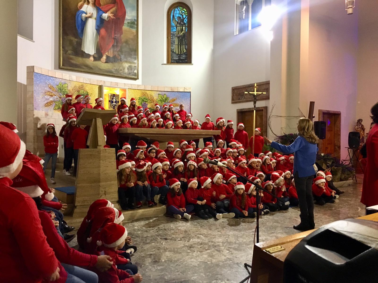 Coro di Natale  Plesso Orazio