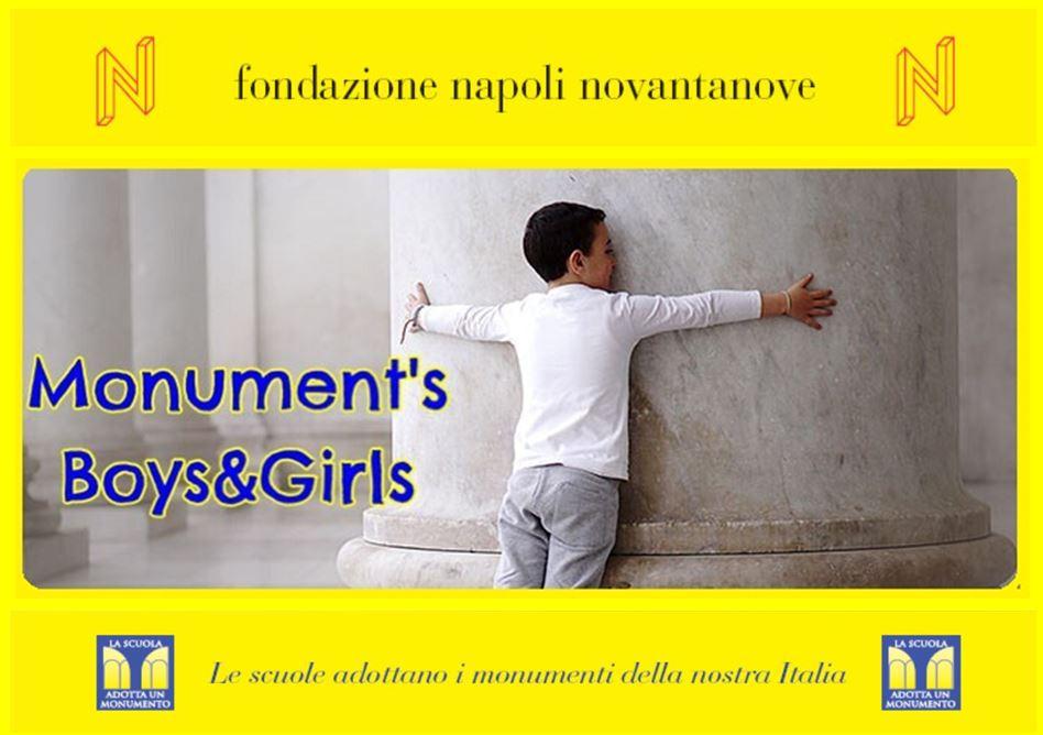 La Scuola adotta un monumento